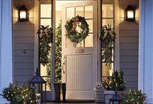 kerst veranda