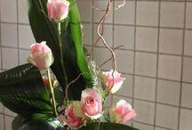 Arrangements fleurs artificielles / Compositions florales