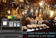 Cashregister Sharp XE-A 107 Black