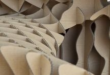 Architecture - Cardboard / Cardboard inspired architecture and art