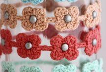 Crocheted jewelry I love