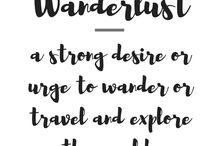 TRAVEL QUOTES / Our round up of the best and most inspiring travel quotes.