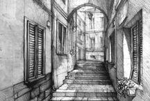 disegni di architecture