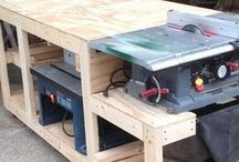 wood working stations