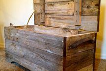 Dřevo ze stodoly