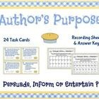 Reading - Author's purpose / by Cindy Leonard