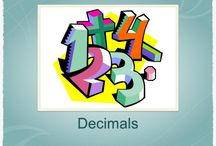 Decimals / This board showcases Decimal Resources Created by TeachInABox Sellers / Members