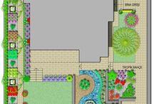 Residential Landscape Design Project / Some residential landscape design projects from Odak Landscape Design http://www.odakpeyzaj.com