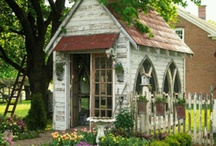 potting sheds / by Ashley Tarver