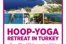 Hoop Yoga Retreat Turkey & Teacher Training  by Hoopgalaxy / Hooping in Paradise! www.hoopgalaxy.com