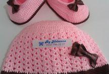 Bebek patik ve şapka