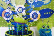 Kiddo Birthday Party Ideas  / by Kellie Baucom