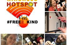 The Kindness Challenge / This board was created to help you share the Kindness Challenge with your friends, family, co-workers and customers. You will find ready-to-share digital low-res graphics for digital marketing. Share, download, send and use these messages of kindness to spread a signal of kindness around the world.