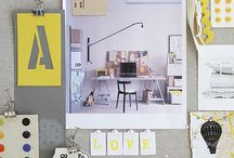 Mood board / Tableaux d'inspiration