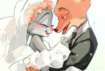 Nick y Judy Kawaii