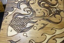 Woodburning / Pyrography / by Adrienne DeVine