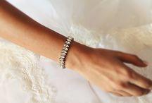 Wedding Bridal Bracelets / Wedding bracelet, bridal bracelet, Swarovski Crystals bracelet