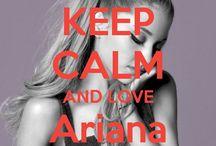 <3 Keep calm: Ariana Grande <3 / Este tablero lo he creado para tener todos los Keep calms de Ariana Grande :).