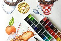 Magie di carta / Illustrazioni, ispirazioni, disegni
