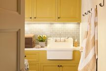 home: laundry rooms / by Sandra Fleming