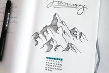 Bullet Journaling & Other Journals / Here you can find a collection of bullet journals, art journals and travel journals. I also pin some journal materials and essentials, that I like