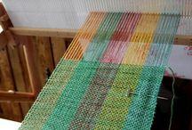 weaving-rigid heddle loom