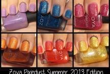 Zoya PixieDust Summer 2013 Edition