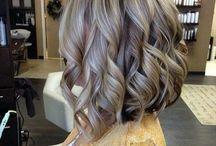 Прически цвет волос