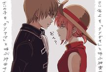 Kagura x Sougo Okita [OkiKagu] / Замечательная пара, моё любимое и лучшее ОТП. Безумно хочу канона♡
