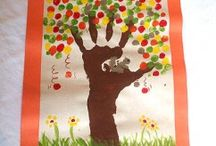 Tree craft idea / This page has a lot of free Tree craft idea for kids,parents and preschool teachers.