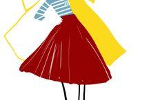 La mode, la mode... / Adolie Day Illustration http://adolieday.blogspot.fr/