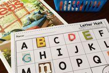 Multi-Sensory letter learning