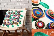 Collaborative art ideas