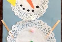 Snowman / Doillies