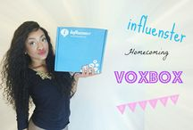 #HCVoxBox / My unboxing of my Homecoming VoxBox I received from Influenster!
