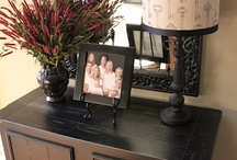 table and mirror ideas / by Cris Walston