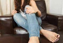 female big feet