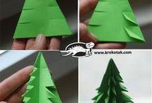 Vánoce - tvoření vhodné pro děti