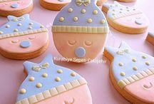 Bebek Kurabiyeleri / Butik kurabiye