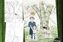 Illustrations / Illustration designs.