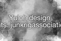 Yuloh & junk rig