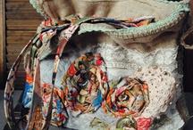 Handbags / Burlap tote