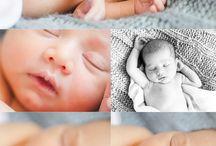 Newborn photo shoot at home