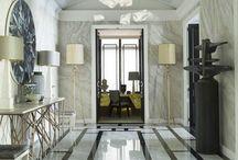 Подвесные композиции для декора интерьеров / Подвесные композиции из фарфора для оформления интерьерной среды