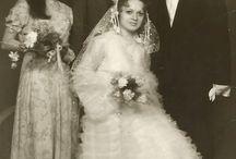 zdjęcia ślubne, lata 70te XX wieku