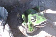 Kurbağa Heykelleri