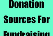 Fundraising Ideas / Generating Funds for Non-Profits