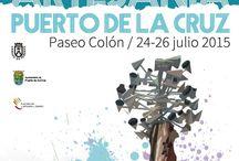 III Feria Insular de Artesanía en el Puerto de la Cruz, 24- 26 julio 2015 / III Feria Insular de Artesanía en el Puerto de la Cruz - del 2julio 2015. 32 artesanos se darán cita en el Paseo de Colón en Puerto de la Cruz. En horario de 10.00 a 22.00 horas.