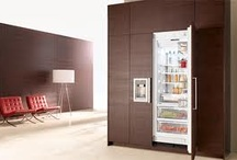 Fully Integrated Refrigerators  / This board is to give the viewer brands/models and ideas to create a kitchen design with fully integrated refrigerators. Brands will include Sub-Zero, Miele, Monogram, Jenn-Air, Liebherr, Viking, Thermador, and more.