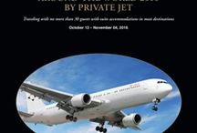 Around the World by Private Jet 2016 / The destinations on Lakani World Tours' Private Jet Around the World Journey October 13 - November 4, 2016